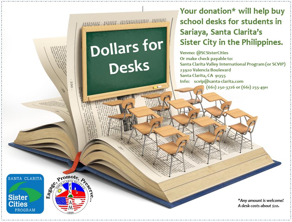 Dollars for Desks Campaign