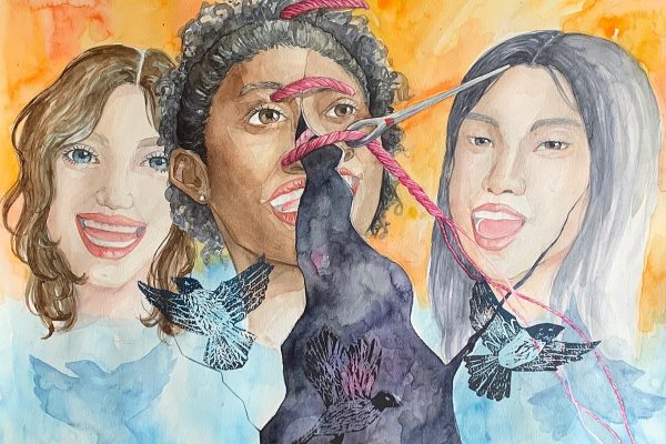 """""""Sewing US Together"""" by Donnah Moon, West Ranch HS"""