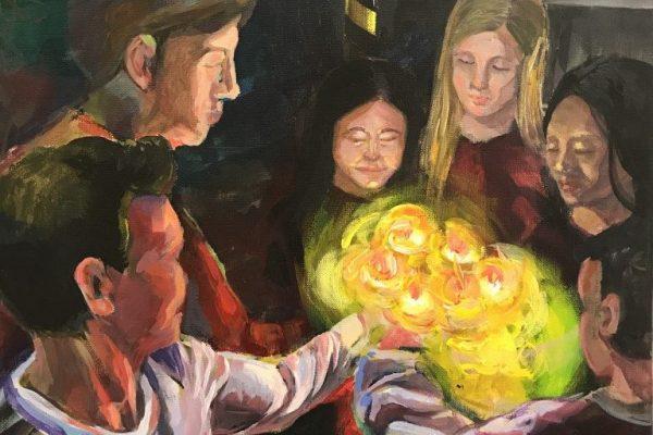 """""""Earthquake"""" by Minju Kim - Art Winner"""