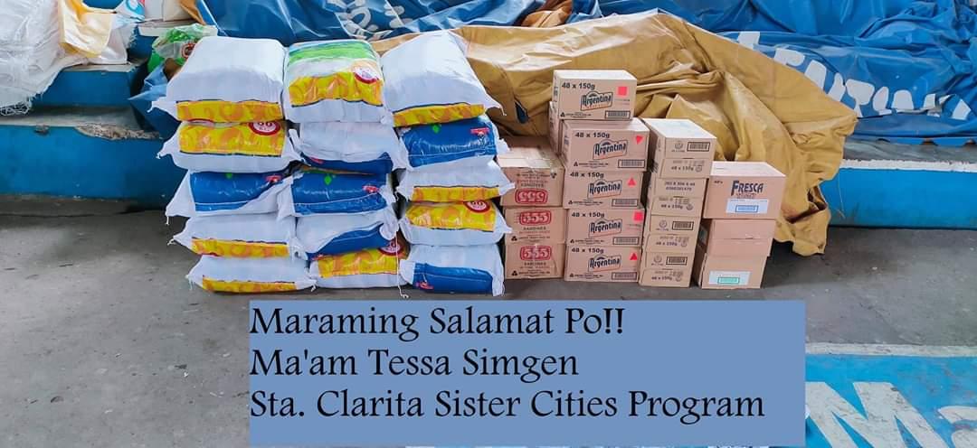 COVID-19 Aid for Santa Clarita's Philippine Sister City