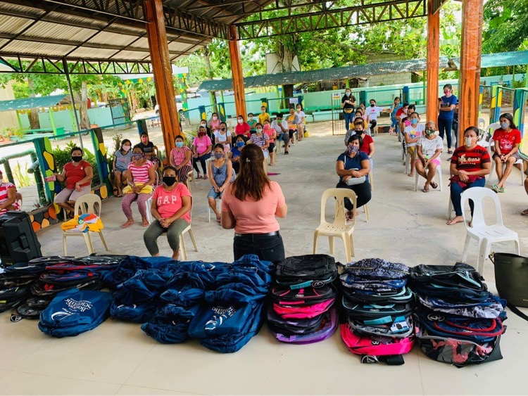 School Supplies for Students in Sariaya, Philippine