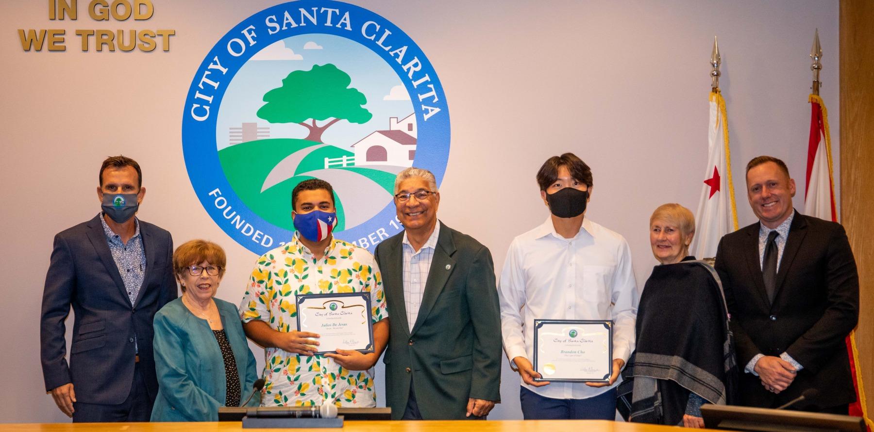 City Council Recognizes SCI Winners